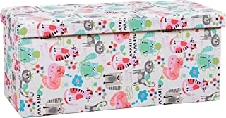 SIScovers Crayola Purrty Cat Box Ottoman 16 inches x 35 inches x 5 inches