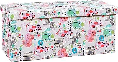 Amazon.com: Storage Stool-can Sit People Toy Storage Box ...