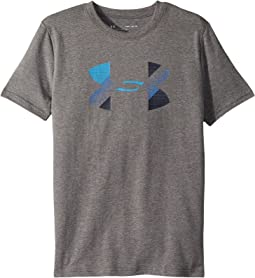 Under Armour Kids Cotton Big Logo Tee (Big Kids)