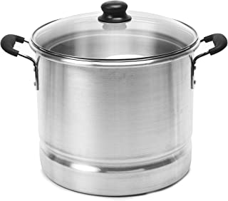 Best IMUSA USA Steamer with Glass Lid 20-Quart, Silver Reviews