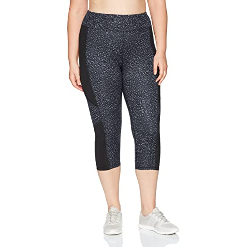 fde5d8af3d9 Just My Size Women s Plus Size Active Pieced Stretch Capri
