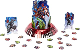 American Greetings Marvel Epic Avengers Party Supplies, Table Decorating Kit, 23-Count