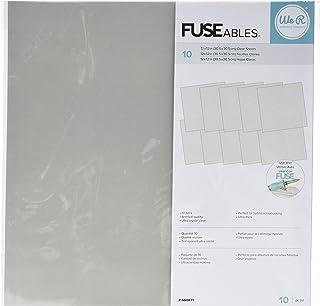 We R Memory Keepers De Plástico Fuseables, acrílico, 30.5x30.5 cm, 10 Unidades
