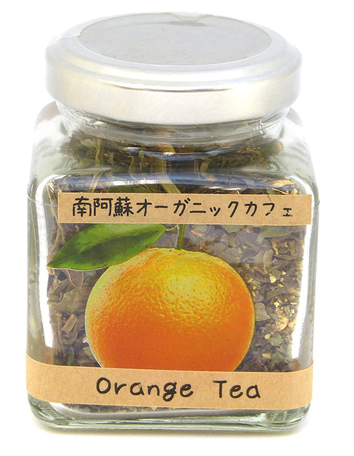 チャンピオン円形胸南阿蘇オーガニック ハーブティー オレンジ 瓶入り リーフ12g