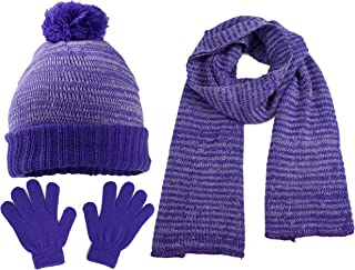 kids hat and gloves