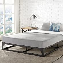 Best Price Mattress King Bed Frame 9 Inch Metal Platform Bed Frame Heavy Duty Steel Slat Mattress Foundation King Size