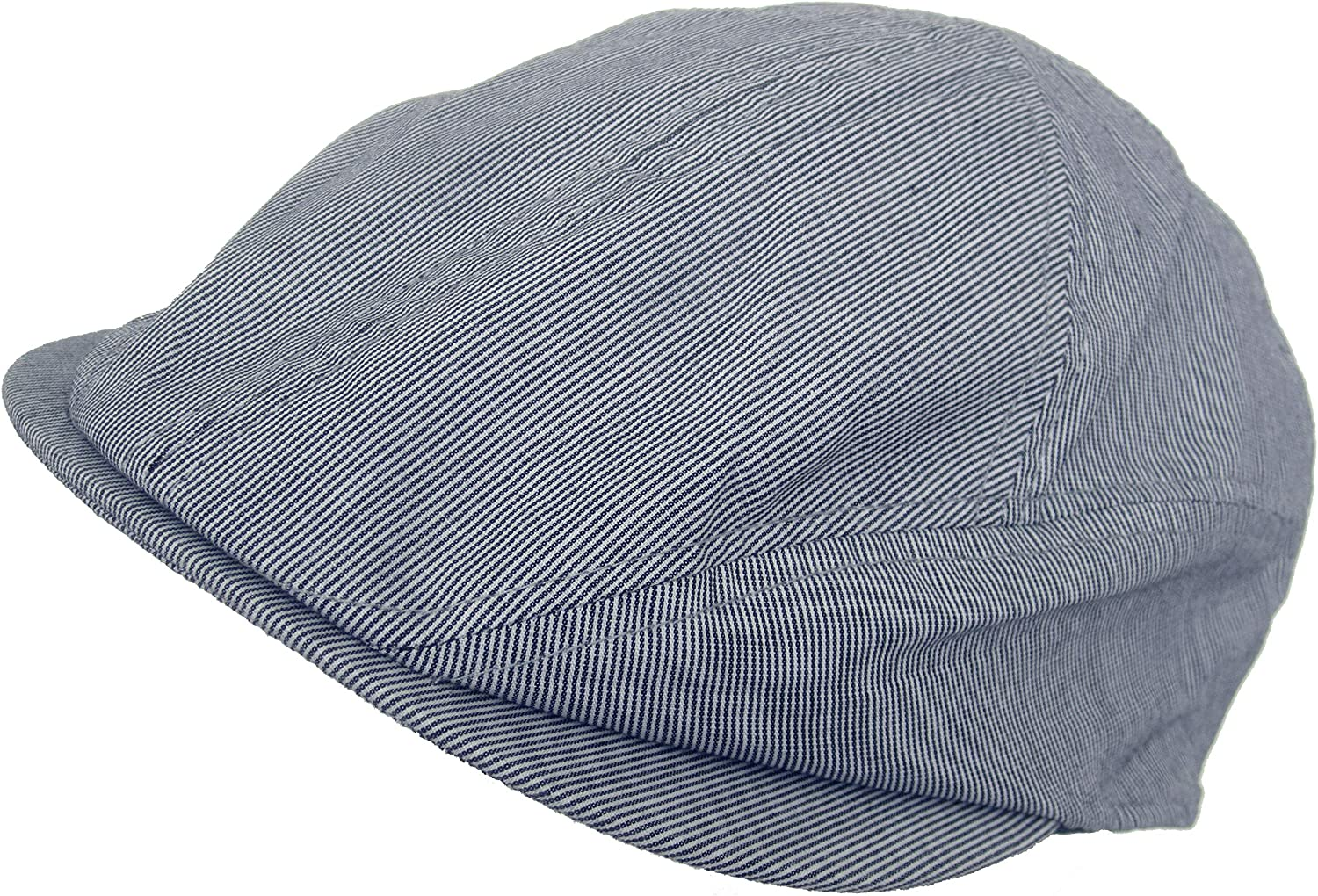 supreme Who Ced 100% Cotton Pinstripe Ivy New product type 5 6 Newsboy Panel Cap Point