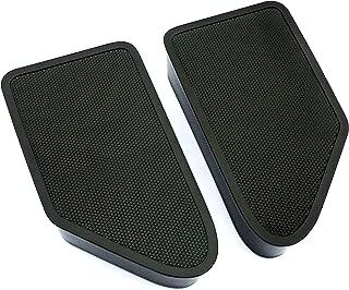Bed Rail Stake Pocket Covers for 2014-2018 Silverado Sierra (Set of 2)