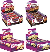 Kellogg's Special K, Assorted Bar Case, Variety Pack, 2.312lb Case (4 Count)