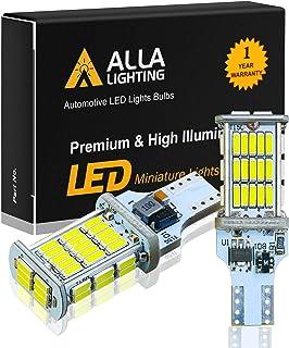 Alla Lighting 921 LED Reverse Light Bulb CAN-BUS Xtreme Super Bright 4014 48-SMD RV Car 912 W16W T15 Backup Brake Stop Car...