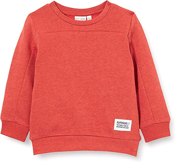 Name It Boys Nmmrolf Ls Knit Camp Sweater
