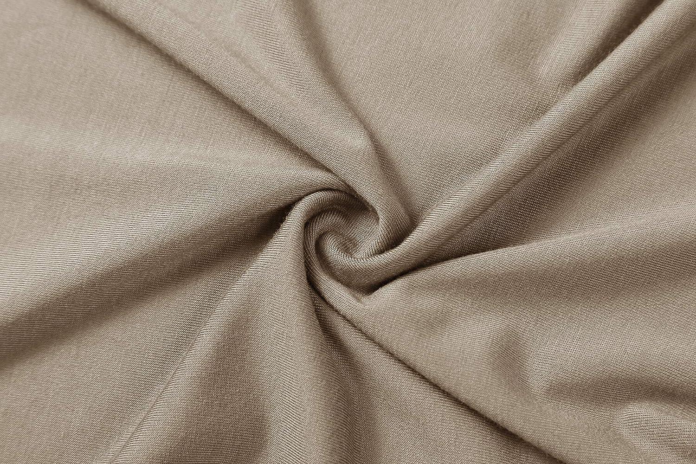 Herou Womens Long Sleeve Lightweight Soft Pullover Turtleneck Tops