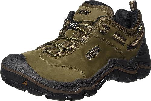 KEEN Wanderer Waterproof, zapatos de Low Rise Senderismo para Hombre