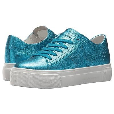 Kennel & Schmenger Big Star Perforated Sneaker (Pool Metallic Calf) Women