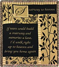 Manual Inspirational Collection 50 x 60-Inch Tapestry Throw, Stairway to Heaven,