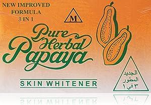 Skin Whitener Papaya Soap 3 In 1 - 135 gm