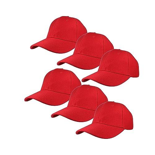 0225f2128 Red Caps: Amazon.com