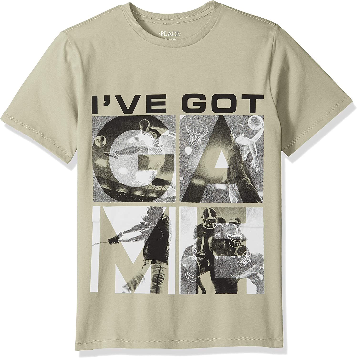 The Children's Place Big Boys' Short Sleeve Graphic Tees