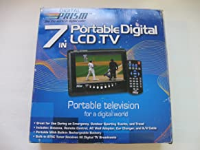 digital prism portable digital lcd tv