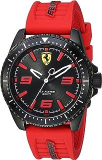Ferrari Men's 0830498 XX KERS Analog Display Quartz Red Watch