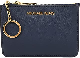 Michael Kors Jet Set Travel Small Top Zip Coin Pouch with ID Holder Saffiano Leather - Multiple Colors!!