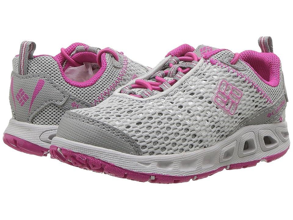 Columbia Kids Drainmakertm III (Toddler/Little Kid/Big Kid) (Grey Ice/Haute Pink) Girls Shoes