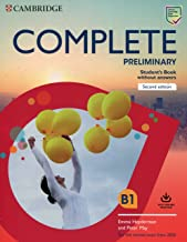 Permalink to Complete preliminary. Revised exam 2020. Student's book without answers with online resources: For the Revised Exam from 2020 PDF