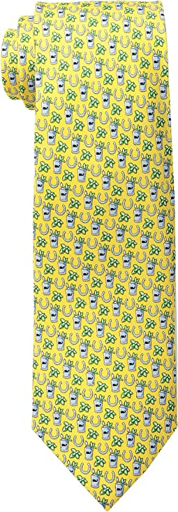 Vineyard Vines Kentucky Derby Printed Tie - Mint Julep
