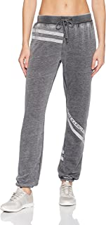 Women's Washed Striped Jogger