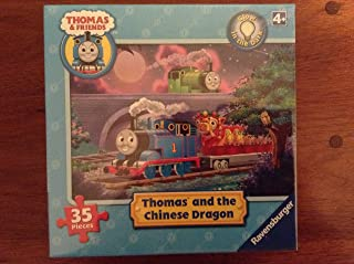 Glow in the Dark Thomas and the Chinese Dragon 35 Pieces Puzzle