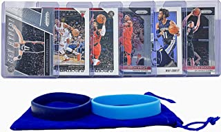 Memphis Grizzlies Basketball Cards: Mike Conley Jr, Jonas Valanciunas, Avery Bradley, C. J. Miles, Justin Holiday, Delon Wright ASSORTED Basketball Trading Card and Wristbands Bundle