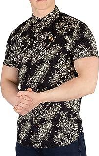 Scotch & Soda Men's Cotton Short Sleeve Shirt