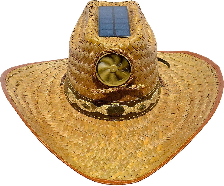 Kool Breeze Solar Hat Gentlemen's Lea 70% OFF Outlet Palm Cowgirl Cowboy Unisex price