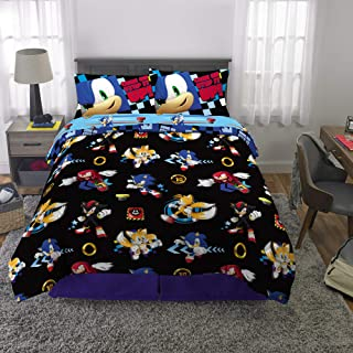 sonic the hedgehog double duvet set