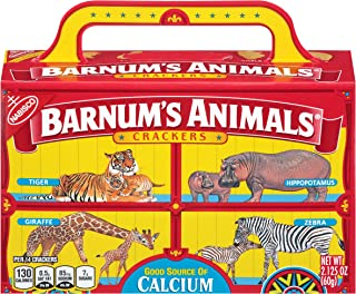 Barnum's Animals Crackers, 2.125-Ounce Box (Packaging May Vary)