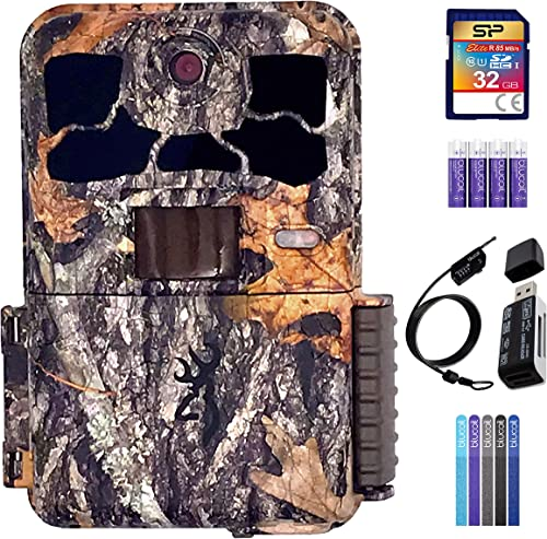 2021 Browning BTC-8E-HP4 Spec Ops Elite HP4 2021 Trail Camera Bundle with 32GB SDHC Memory sale Card, Blucoil 4 AA Batteries, USB 2.0 Card Reader, 6.5-FT Combination Cable Lock, and 5-Pack of Reusable Cable Ties online sale