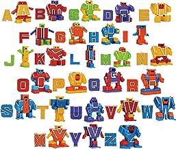 اسباب بازی های اکشن ربات الفبای شکل اسباب بازی برای کودکان و نوجوانان ABC آموزش ، جشن تولد ، جوایز کلاس درس مدرسه ، جوایز کارناوال ، اسباب بازی آموزشی قبل از مدرسه ، سبد خرید عید پاک