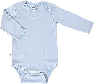 Woolino Unisex Long Sleeve Bodysuit for Babies, Merino Wool, 3-18 Months