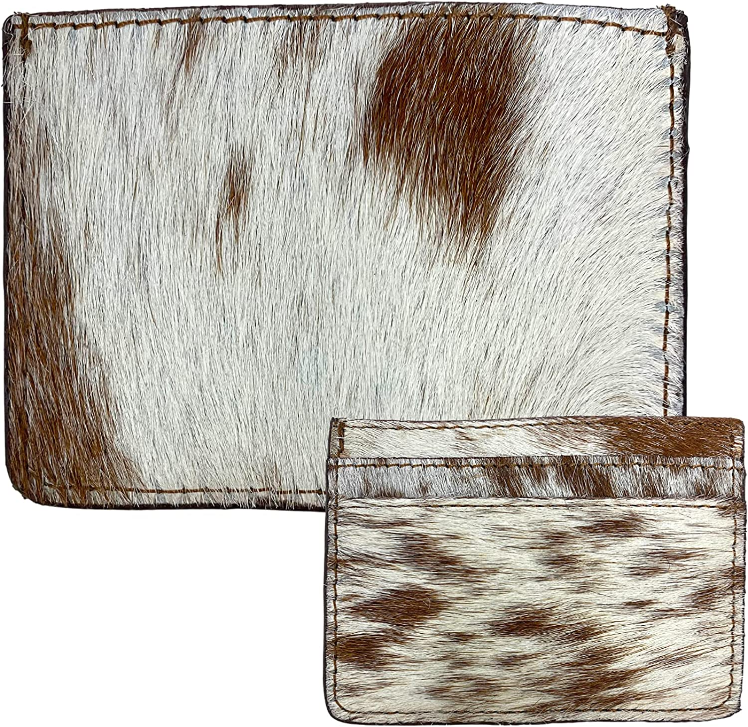 Faux Fur Multi Credit Card Holder for Men and Women, Minimalist Holders for Cards and Money, Cute Small Wallets for Purse, 3 x 4 Inches