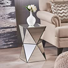 Christopher Knight Home Aedon Mirrored Side Table