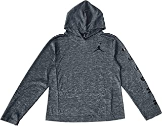 Jordan Air Boys Youth Dri-Fit Long Sleeve Hoodie Shirt Size M, L, XL
