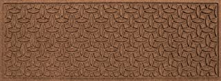 Bungalow Flooring Waterhog Indoor/Outdoor Runner Rug, 22 x 60 inches, Skid Resistant, Easy to Clean, Catches Water and Debris, Ellipse Collection, Dark Brown