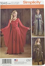 Simplicity Women's Fantasy Dress Halloween, Cosplay, and Ren Faire Sewing Patterns, Sizes 6-12
