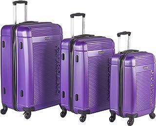 جيوردانو طقم حقائب سفر بعجلات, 3 قطع مع 4 عجلات, ارجواني - 827425