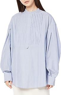 [ミラオーウェン] スタンドカラーワイドドレスシャツ 09WFB214110 レディース