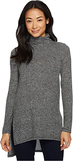 Karen Kane - Side-Slit Turtleneck Top