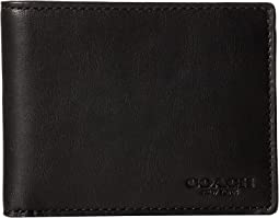 Sport Calf Slim Billfold ID Wallet