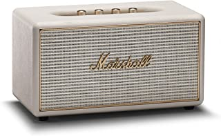 Marshall Stanmore Wireless Multi-Room Wi-Fi and Bluetooth Speaker, Cream