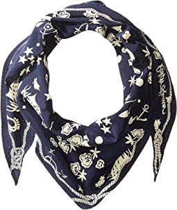 Polo Ralph Lauren Dutch Nautical Diamond Shape Scarf