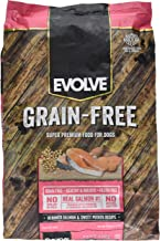 Evolve Super Premium Grain Free Dog Food Diets Deboned Salmon & Sweet Potato